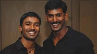 Dhanush`s Tea Kada Raja Movie Shooting stopped by Vishal | 123 Cine news | Tamil Cinema News