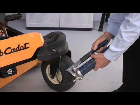 25 Hour Maintenance Checklist - RZT Zero-Turn Riders
