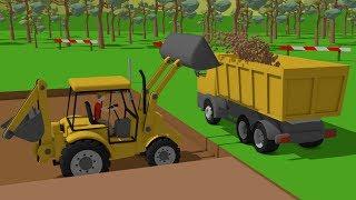 Video #Excavator and Truck, Dump Truck and Concrete Mixer Truck | Street Vehicles | Maszyny Budowlane download in MP3, 3GP, MP4, WEBM, AVI, FLV January 2017
