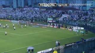 Figueirense 2x3 Palmeiras HD - Série B 2013 - 20/07/2013