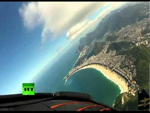 Il Jetman vola su Rio De Janeiro