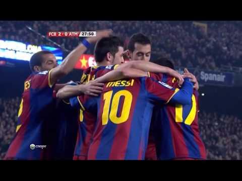 FC Barcelona's Possession & Passing From 2010-11 Season (видео)