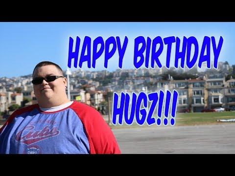 Birthday greetings - Happy Birthday Hugz!!
