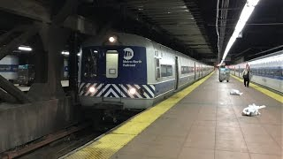 Metro-North Railroad HD 60 FPS: Budd M3A EMU Trains Departing Grand Central Terminal (1/19/17)