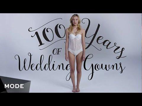 100 Jahre Modegeschichte: Brautmode