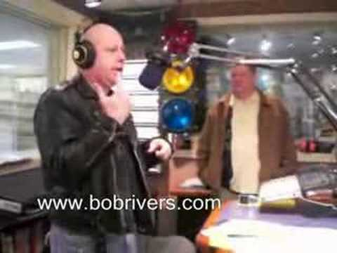 Comedian John  McClellan in The Bob Rivers Show 11-16-07