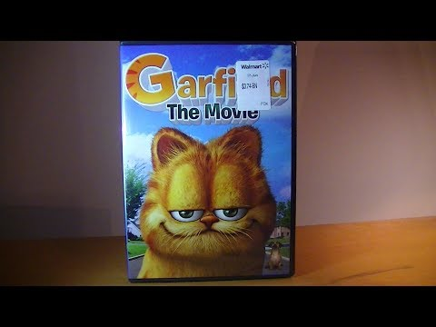 Garfield The Movie - DVD Unboxing!