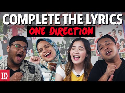 Complete The Lyrics! One Direction Edition | SAYS Challenge