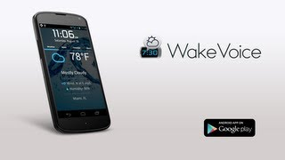 WakeVoice - vocal alarm clock YouTube video