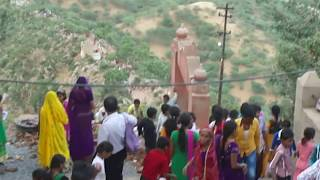 Ajmer India  city photos : foreign tourist enjoying at savitri temple , pushkar, ajmer, rajasthan, india part - 1