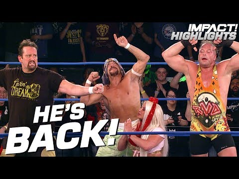 SABU Returns To Fight Off Moose & The North! | IMPACT! Highlights May 24, 2019