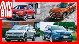 Zukunftsvision: Kodiaq, Tiguan XL, Q3 L, X1 L / Kompakt-SUV werden länger by Auto Bild
