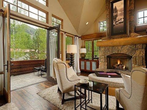 Elegant Mountain-Style Core Duplex in Aspen, Colorado (видео)