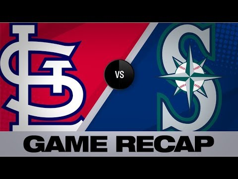Video: Edman lifts Cards to 5-4 win over Mariners | Cardinals-Mariners Game Highlights 7/4/19