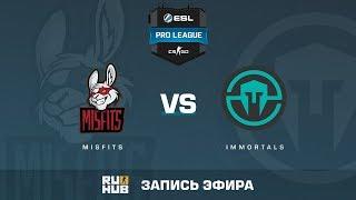 Misfits vs Immortals - ESL Pro League S6 NA - de_cache [sleepsomewhile, MintGod]