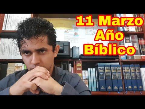 JOSUE 1, 2 y 3 AÑO BÍBLICO (Nelson Berrú) 11 DE MARZO