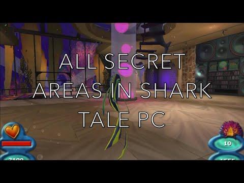 ALL SECRET AREAS REVEALED!! - Shark Tale PC