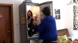 مقلب الثلاجة مضحك
