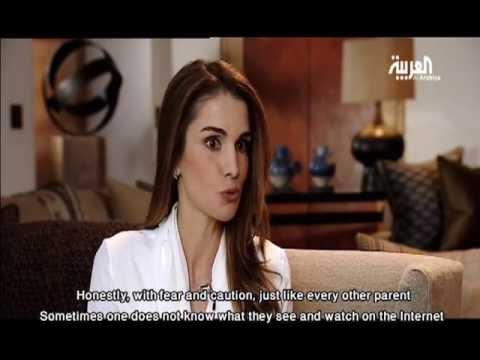 الجزء الثاني من مقابلة الملكة رانيا العبدالله