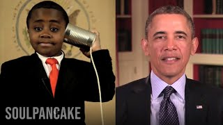 White House (TN) United States  city images : President Obama sends Kid President a Message
