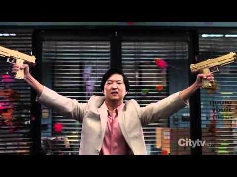 Senor Chang Paintball Scene