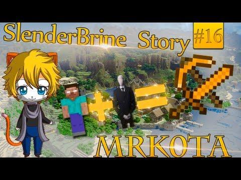 SlenderBrineStory #16: Парикмахер убийца! [Minecraft] (Mrk0tA)