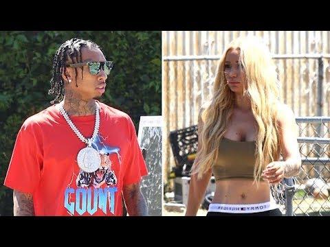 Iggy Azalea And Tyga Team Up To Shoot A Video In LA