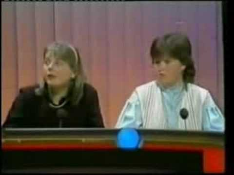 The very first episode of Blockbusters