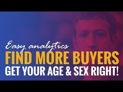Watch 'Facebook Advertising: More Buyers With Analytics Data - YouTube'