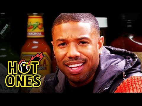 Michael B. Jordan Gets Knocked Out By Spicy Wings | Hot Ones