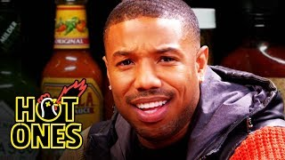 Video Michael B. Jordan Gets Knocked Out By Spicy Wings | Hot Ones MP3, 3GP, MP4, WEBM, AVI, FLV Agustus 2019