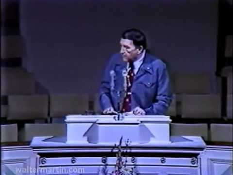 Jehovah's Witnesses & Jesus Christ part 2 of 2 Dr Walter Martin.wmv