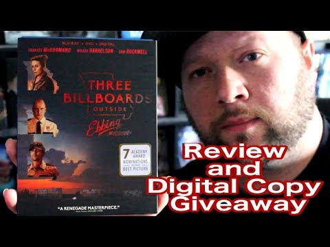 Three Billboards Outside Of Ebbing Missouri Review And Digital Code Giveaway