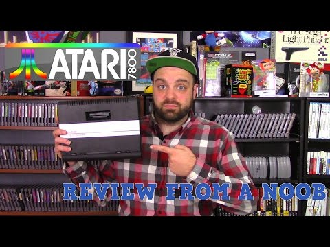 Atari 7800 Review from a Noob | 5 Fun Atari 7800 Games | RGT 85