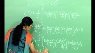 Mod-01 Lec-27 The Particle In A One-dimensional Box