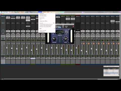 Pro Tools tips Mixing your Home Recordings – Drum Sound Tips &Tricks Pt. 3 – Compression & EQ