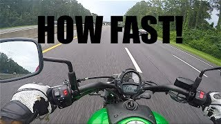 6. KAWASAKI VULCAN 650 TOP SPEED | REVIEW | MOTOVLOG