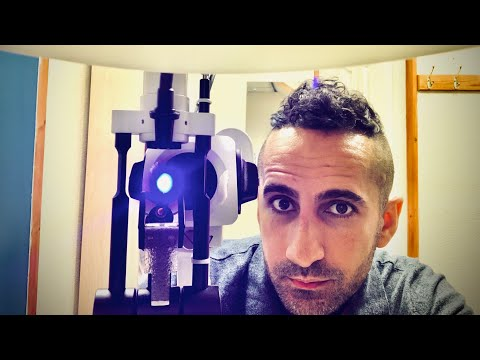 ASMR Eye Exam Trigger you NEED