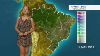 Não há mais previsão de bloqueio atmosférico que impeça a chegada de frentes frias no Sul e Sudeste do Brasil, por isso as condições de chuva aumentam ainda ...