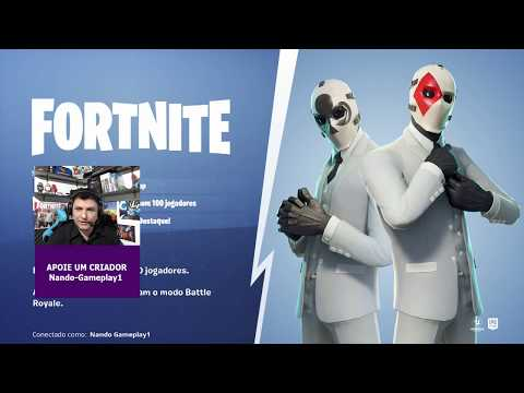 Fortnite - JOGANDO COM INSCRITOS AO VIVO! - #fortnite #jogos #nando #xbox #ps4 #pc #games #nimotv
