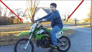 10. Kawasaki KLX 110 Review
