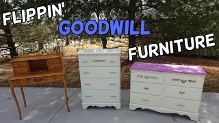Flipping Goodwill Furniture Locally + Profitable Ebay Sales - Flips & Finds #11