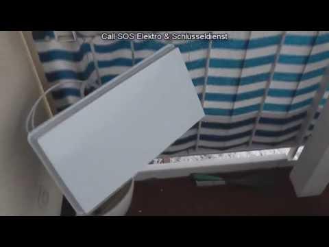 TV Hi-Fi Video - Installation einer Satellitenantenne (Flachantenne)