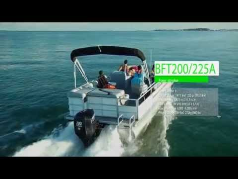 Tohatsu Video showcasing the 4 Stroke BFT line of Tohatsu Outboard engines ranging in size from 60HP, 75HP, 90HP, 115HP, 125HP,200HP, 225HP, and 250HP