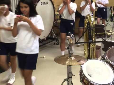 帝塚山小学校エマーブライト避難訓練