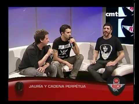 Jauría video Jauría y Cadena Perpetua - Nota - CM Rock - Ago 2014
