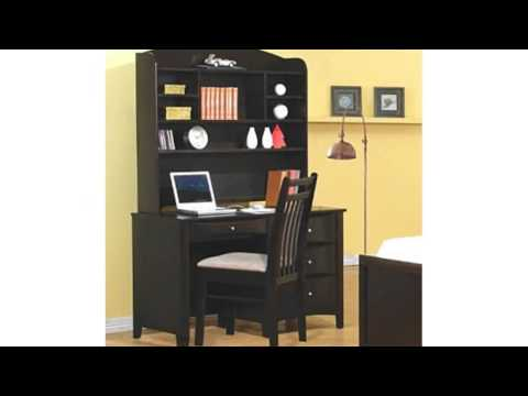 Video YouTube video advertisement for the Phoenix Computer Desk With Hutch