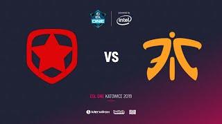 Gambit vs Fnatic, ESL One Katowice 2019, bo2, game 1, [Adekvat & Mortales]