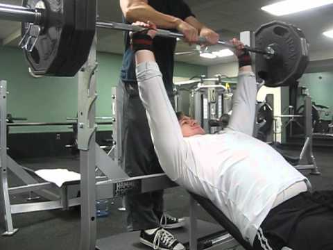 315 Incline Bench Press for 5 reps