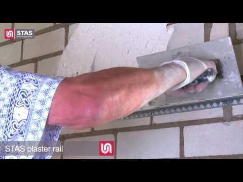 STAS plaster rail